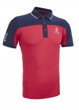 buy Sunderland Block Panel Golf Polo Shirt