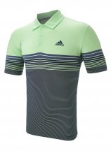 buy Adidas Ultimate Gradient Block Stripe Polo Shirt