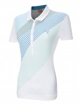 buy Puma Ladies Striped Short Sleeved Cell Polo
