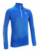 buy Under Armour Tech Block 1/4 Zip Long Sleeve Junior Top