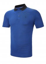 buy Calvin Klein Interval Striped SmartTec Polo