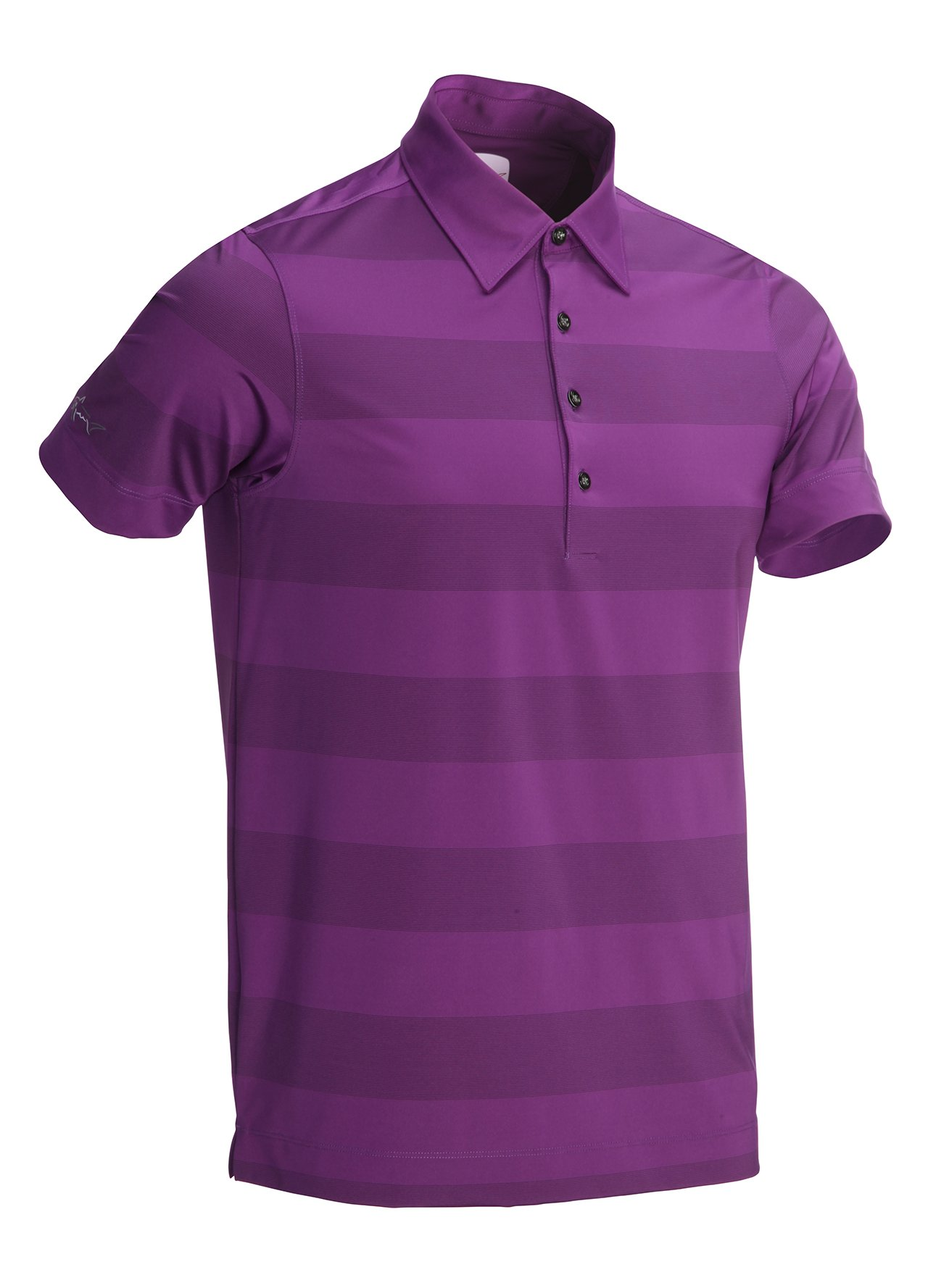 greg norman mens polos purple greg norman rugby stripe