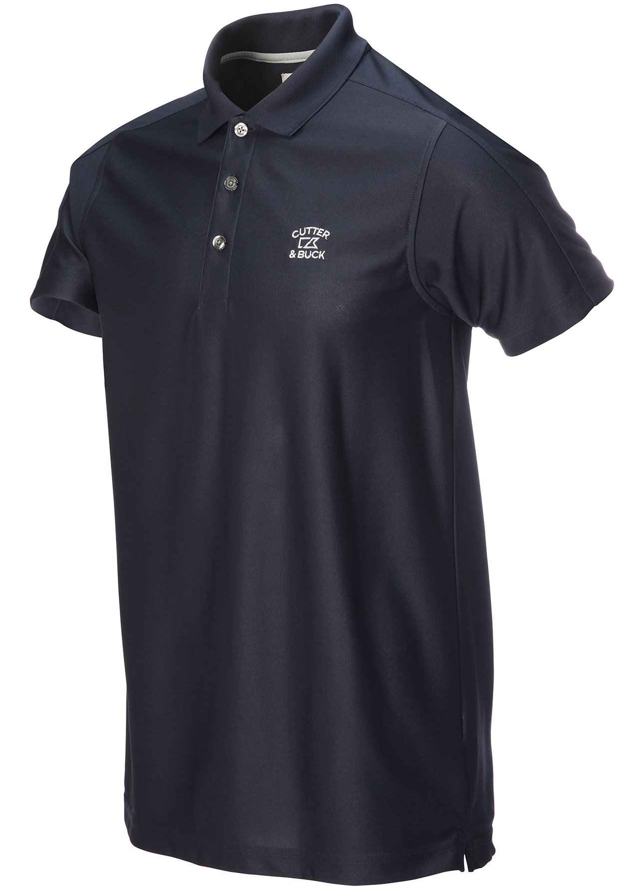 Golf clothing shirts navy cutter buck drytec genre for Cutter buck polo shirt size chart