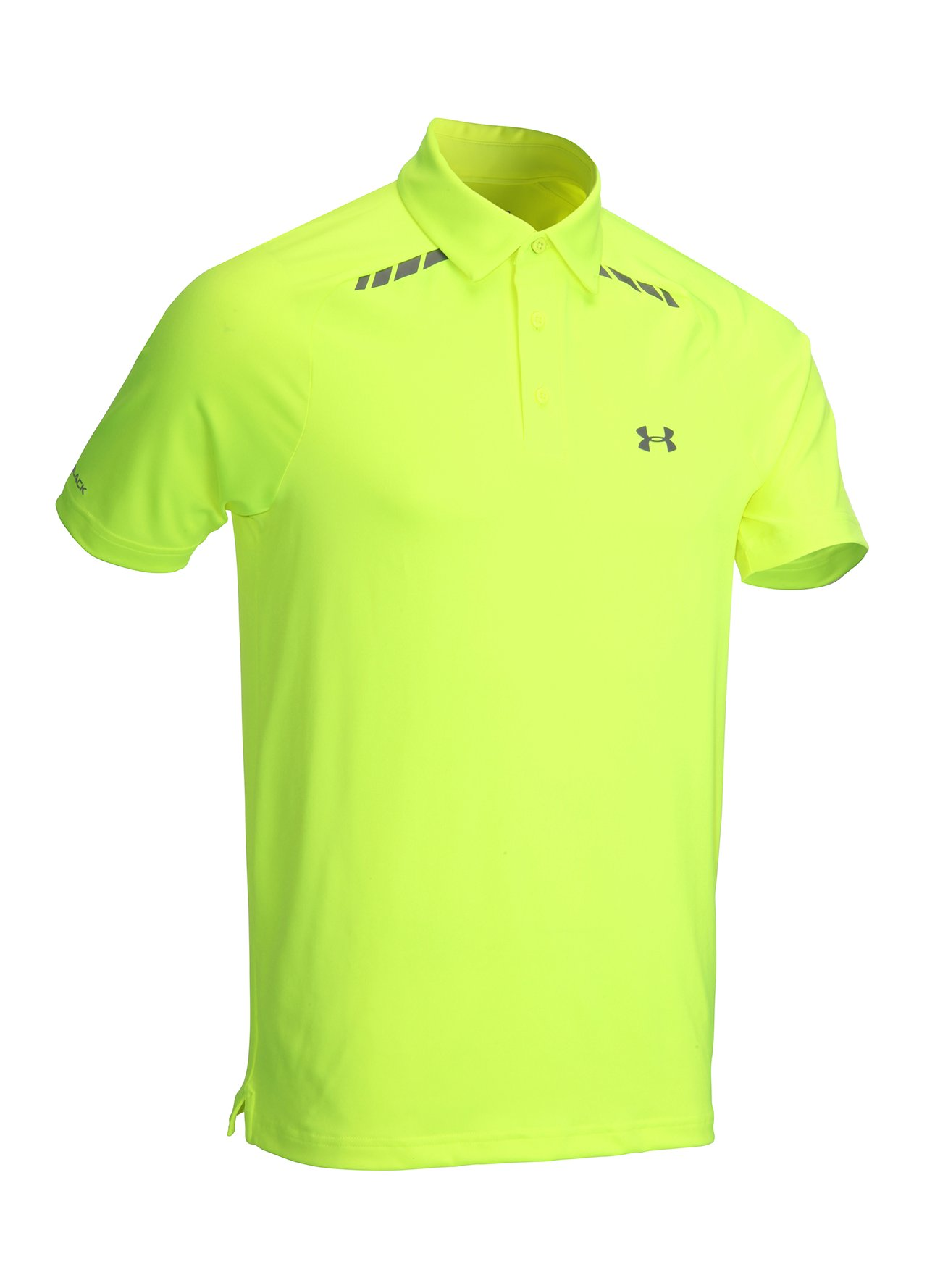 Under armour coldblack forged polo shirt for Yellow golf polo shirts