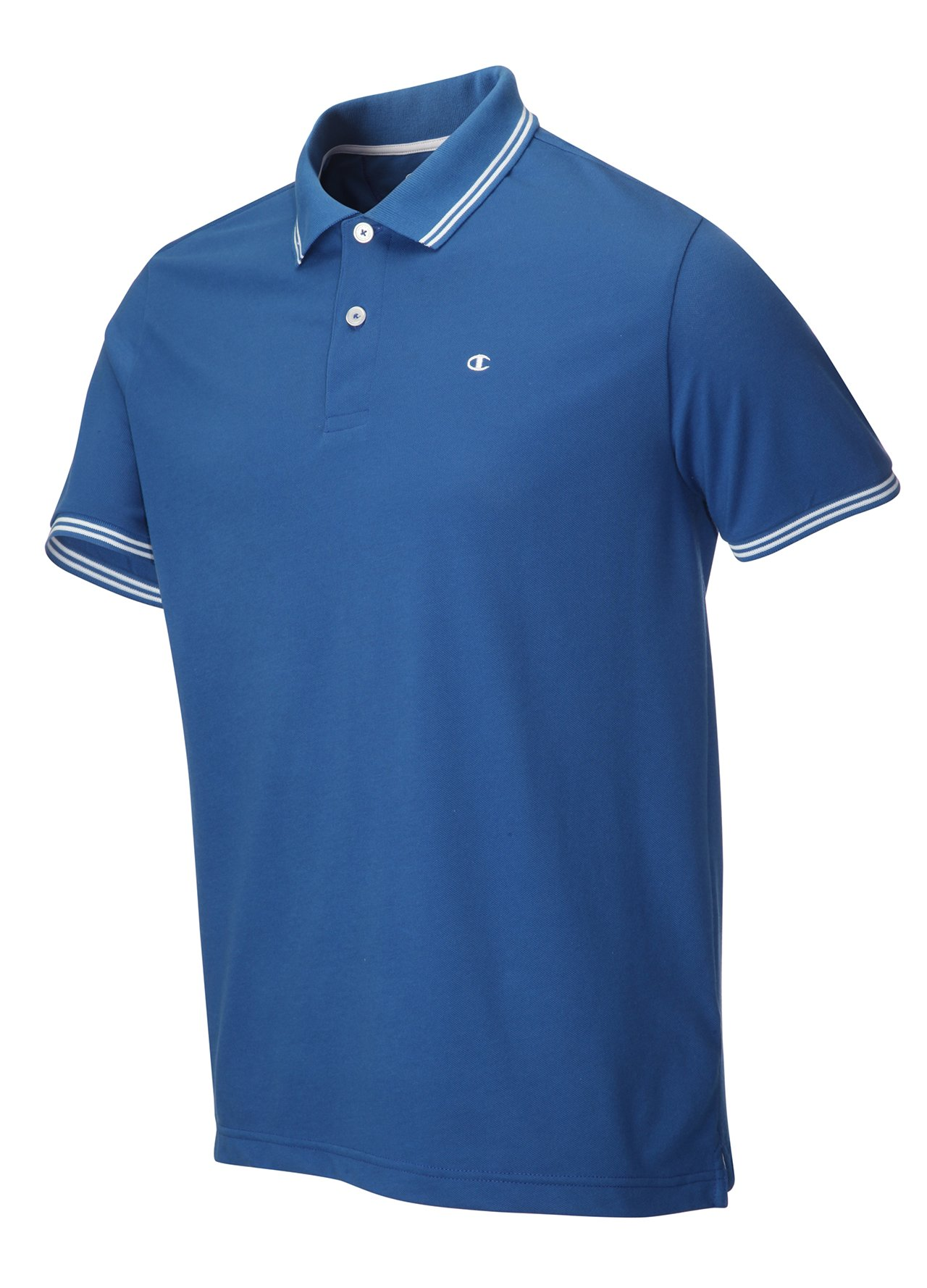Golf clothing shirts dark grey champion pique