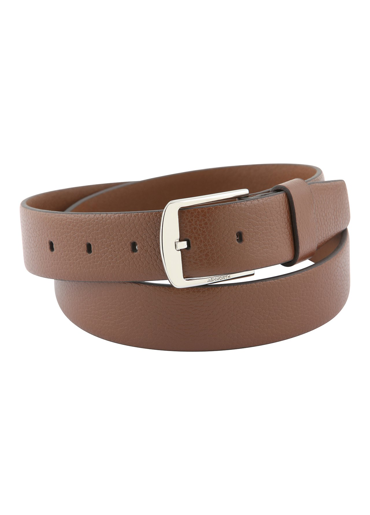 accessories belts brown ashworth dress belt c964