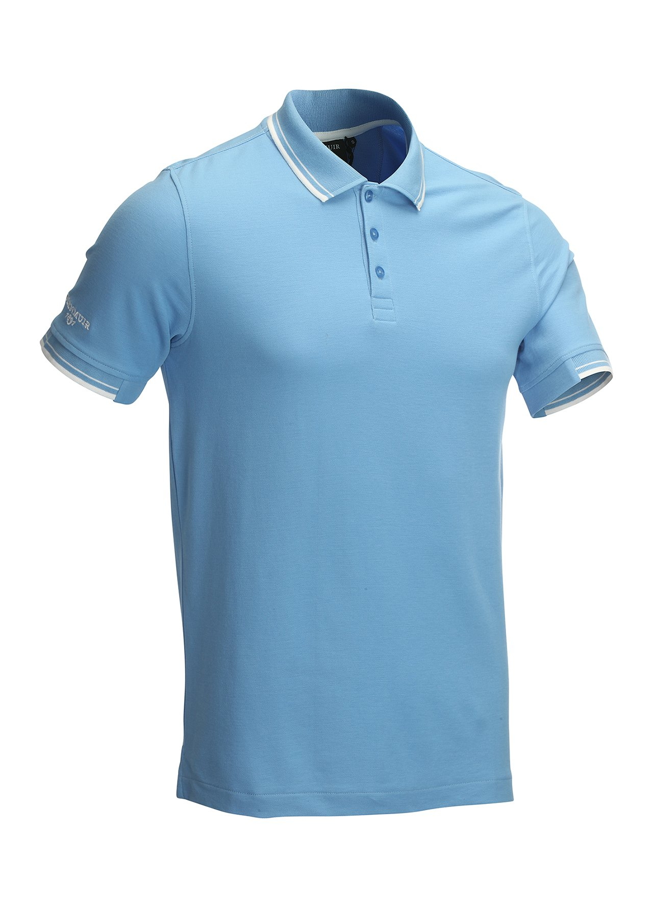 Glenmuir mens tipped golf polo shirt sports top 75 off for Best mens sport shirts