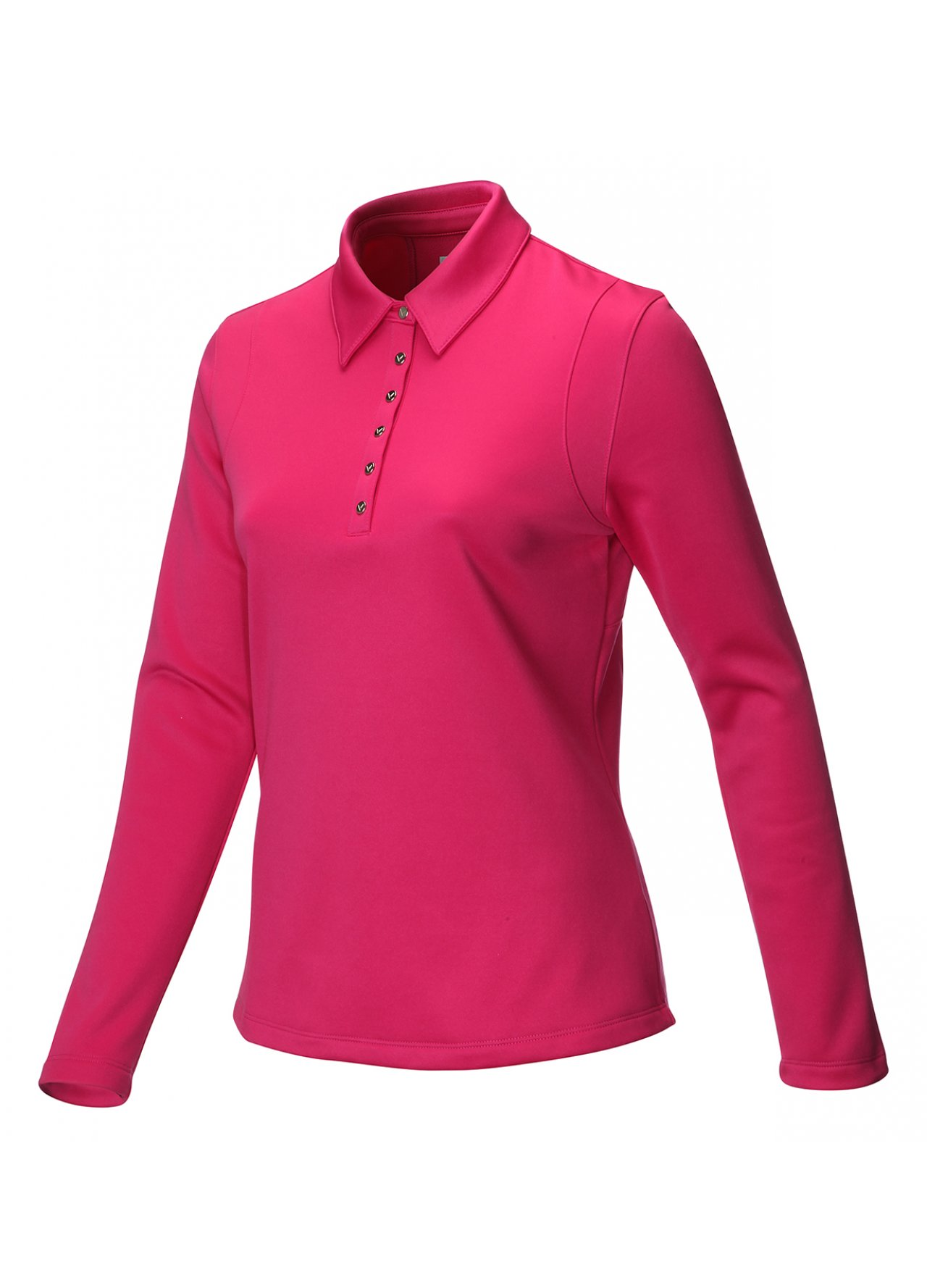 Ladies clothing ladies shirts wild aster callaway golf for Long sleeve golf polo shirts