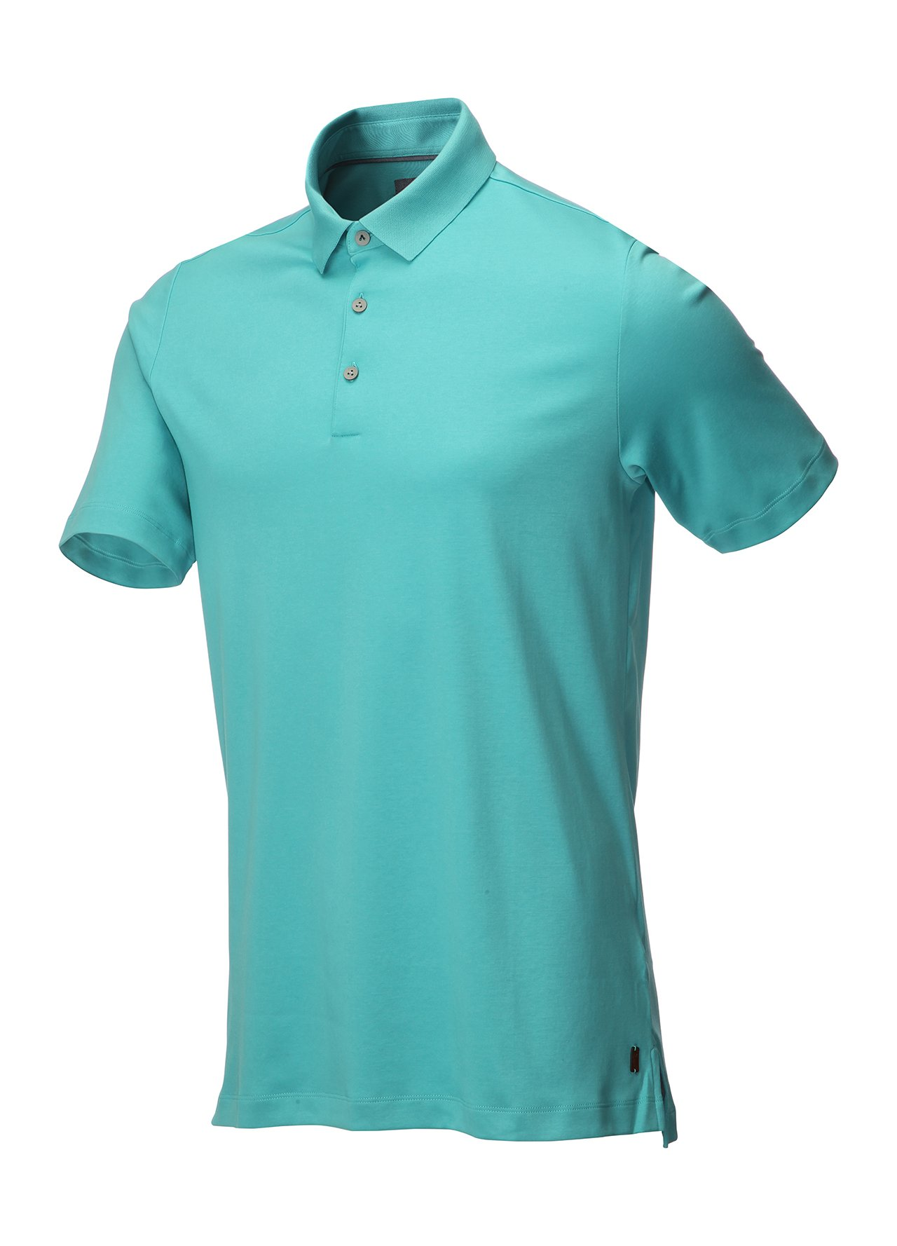 Ashworth mens primatec cotton golf polo shirt sports top
