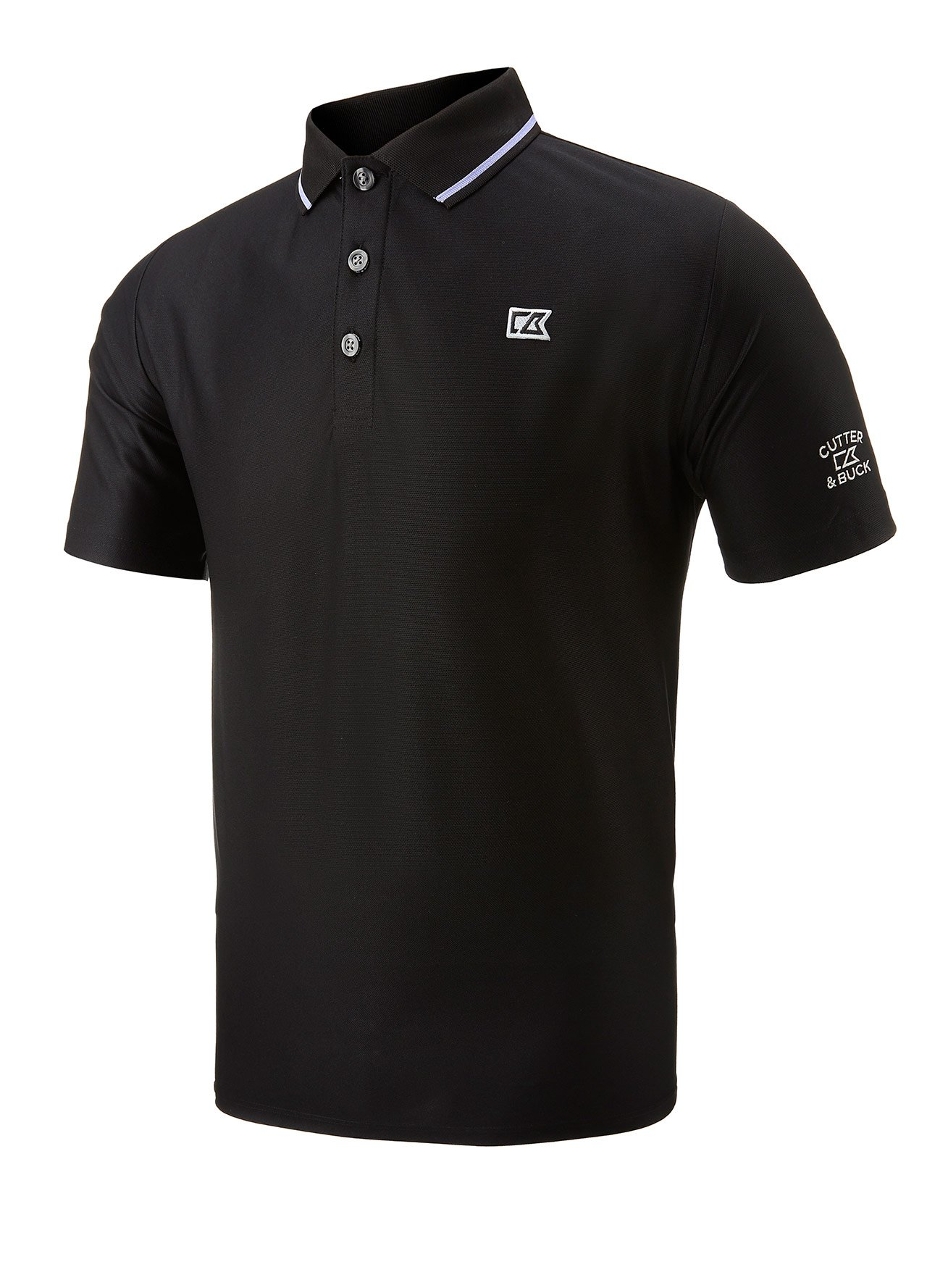 Golf clothing shirts black cutter buck drytec golf for Cutter buck polo shirt size chart