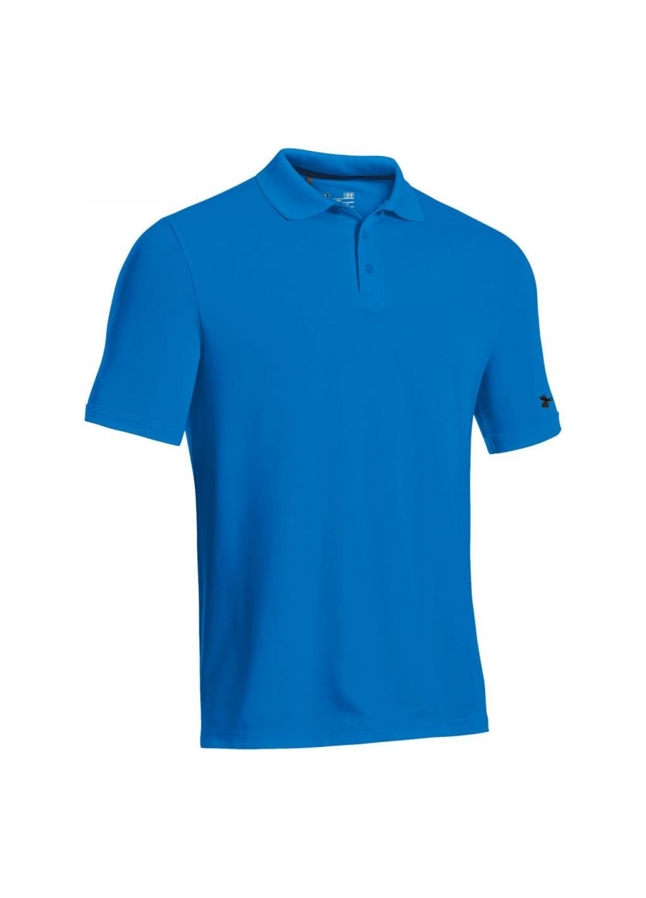 Golf clothing shirts blue under armour golf for Under armour company shirts