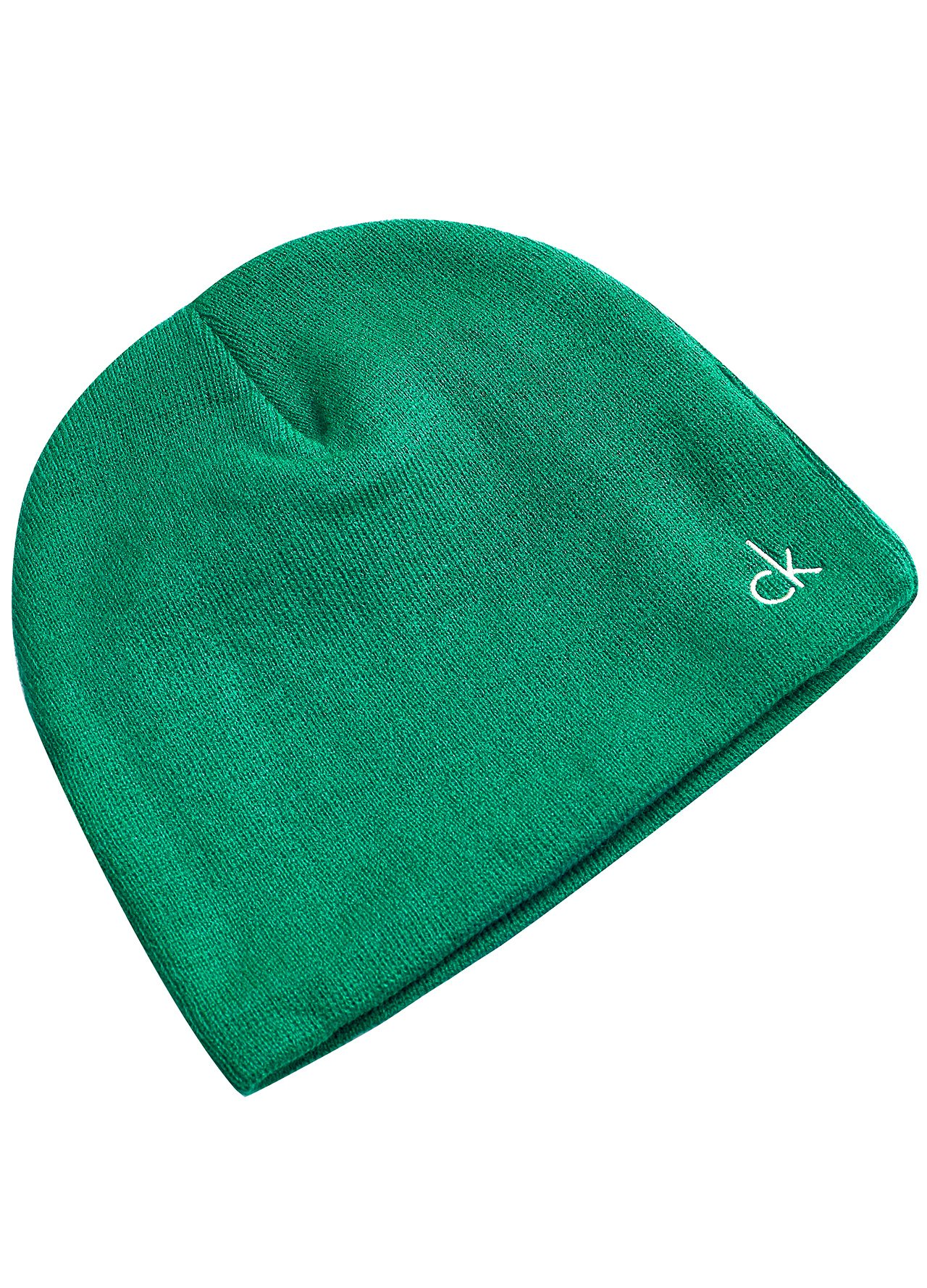 3fb5120e5a1 Calvin Klein Golf Fleece Lined Beanie Green One Size. About this product.  Picture 1 of 2  Picture 2 of 2