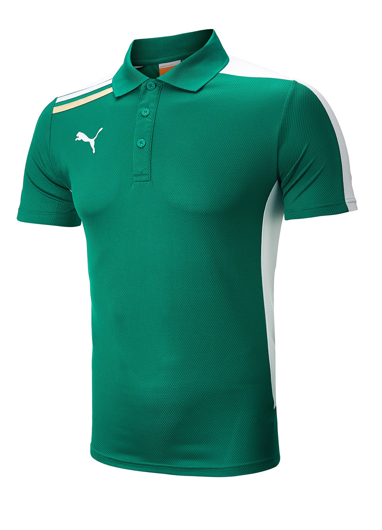 Puma esito golf polo shirt green medium ebay