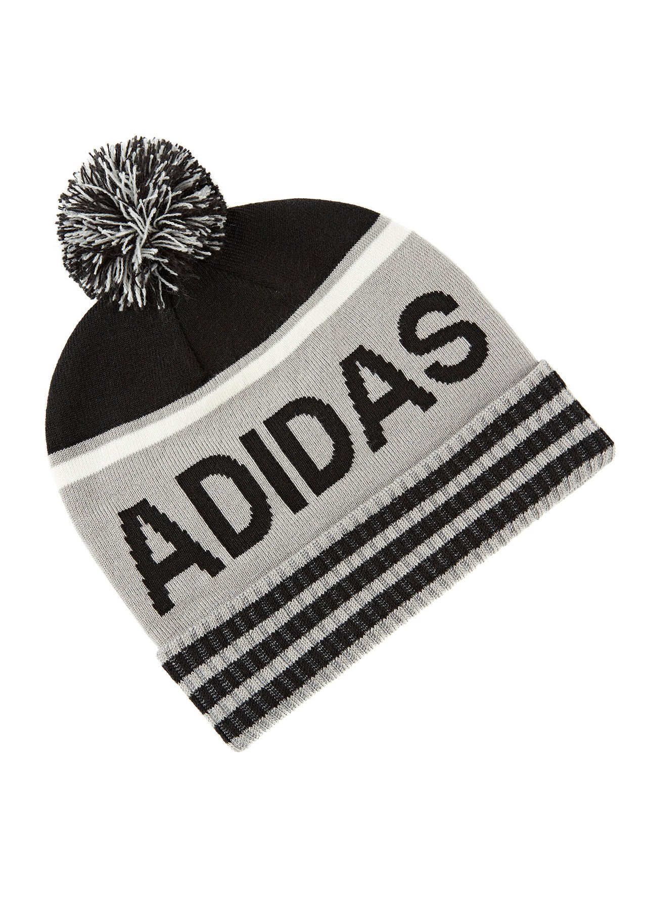 4484728619196 Accessories - Headwear - Adidas Golf Pom Beanie (D576) from County Golf