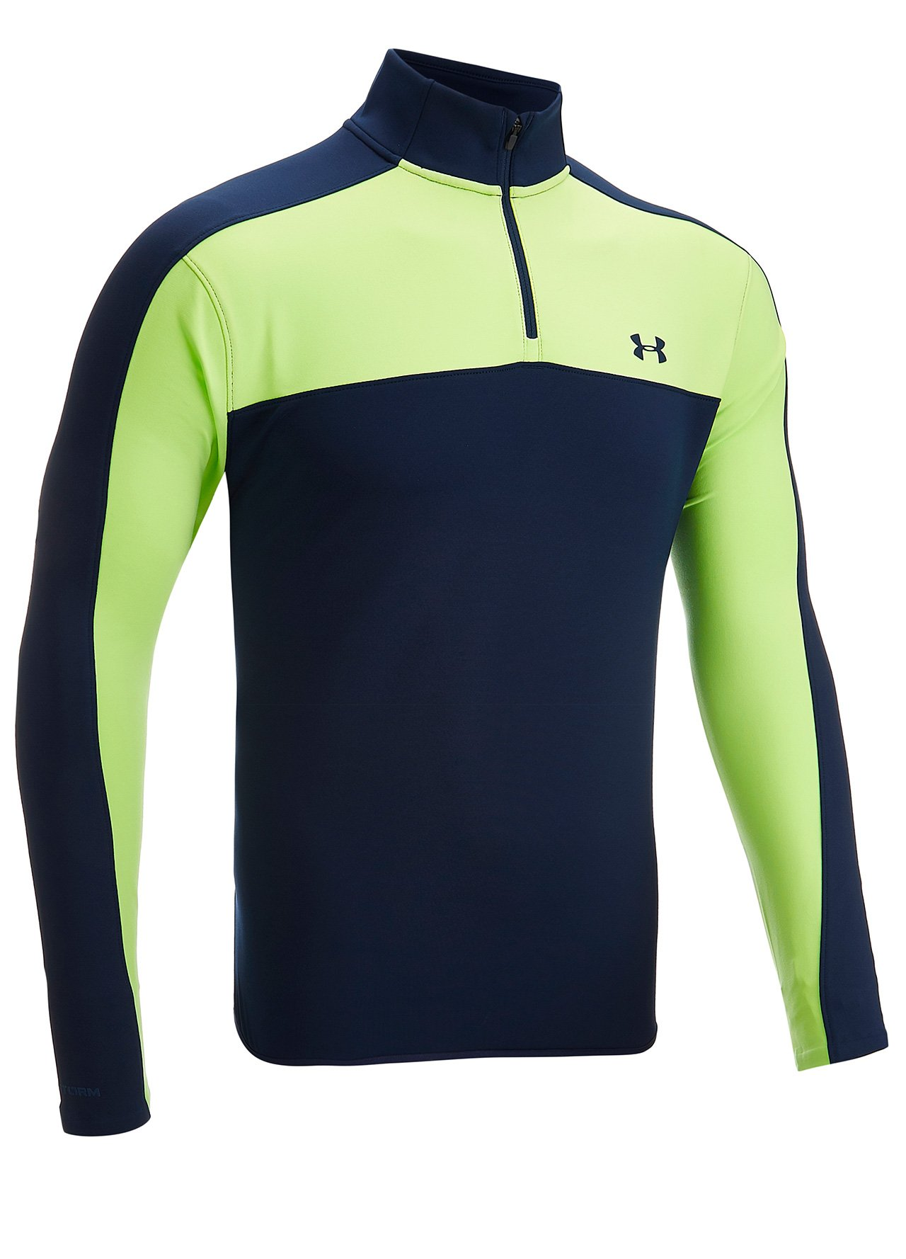 52612a110 Warehouse Clearance - Navygreen Under Armour 1/4 Zip Water Resistant ...