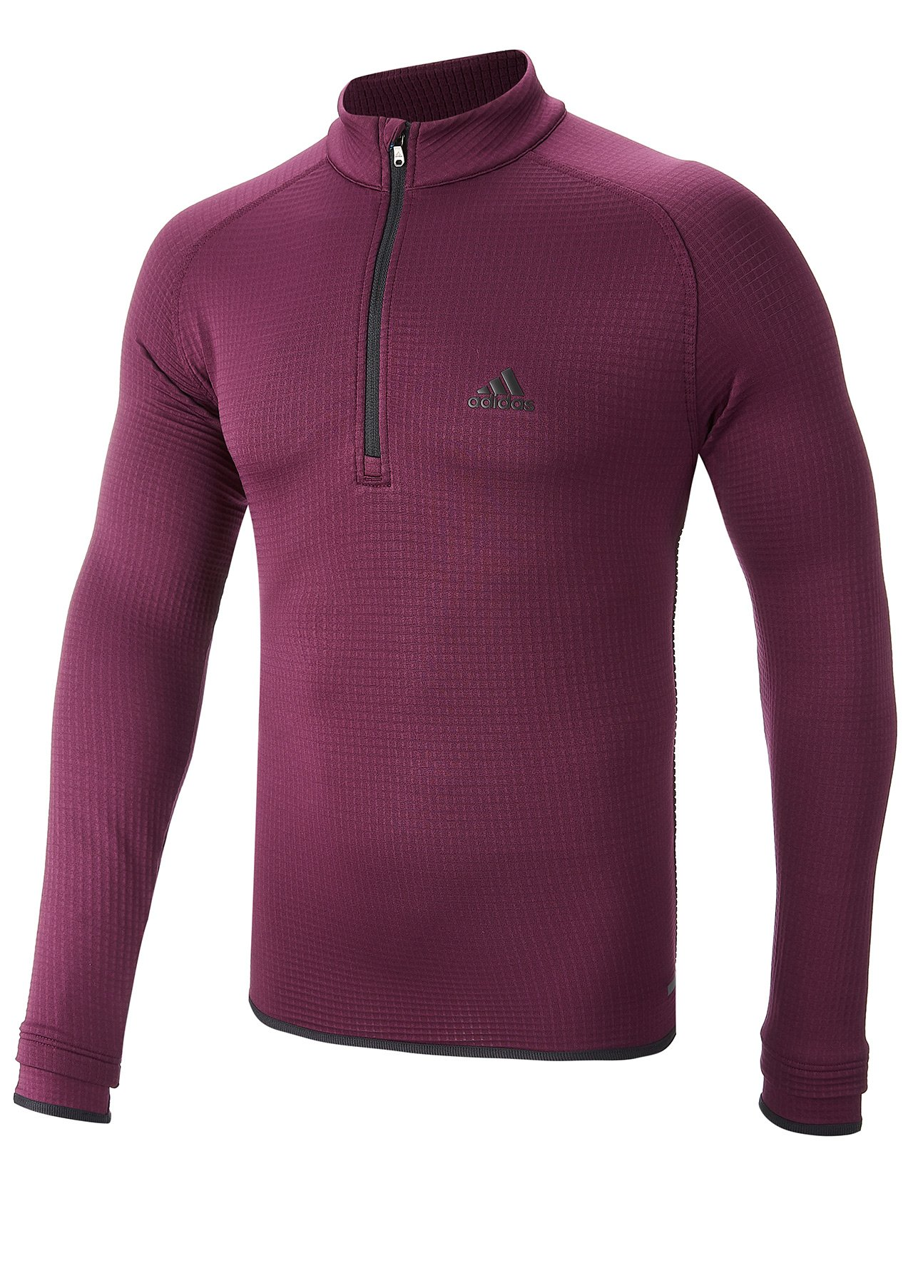 e332d78bd26b Golf Clothing - Sweaters - Adidas Golf Climaheat Gridded 1 4 Zip ...
